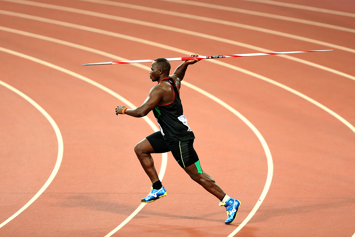 Julius Yego in the javelin at the IAAF World Championships Beijing 2015 (Getty Images)
