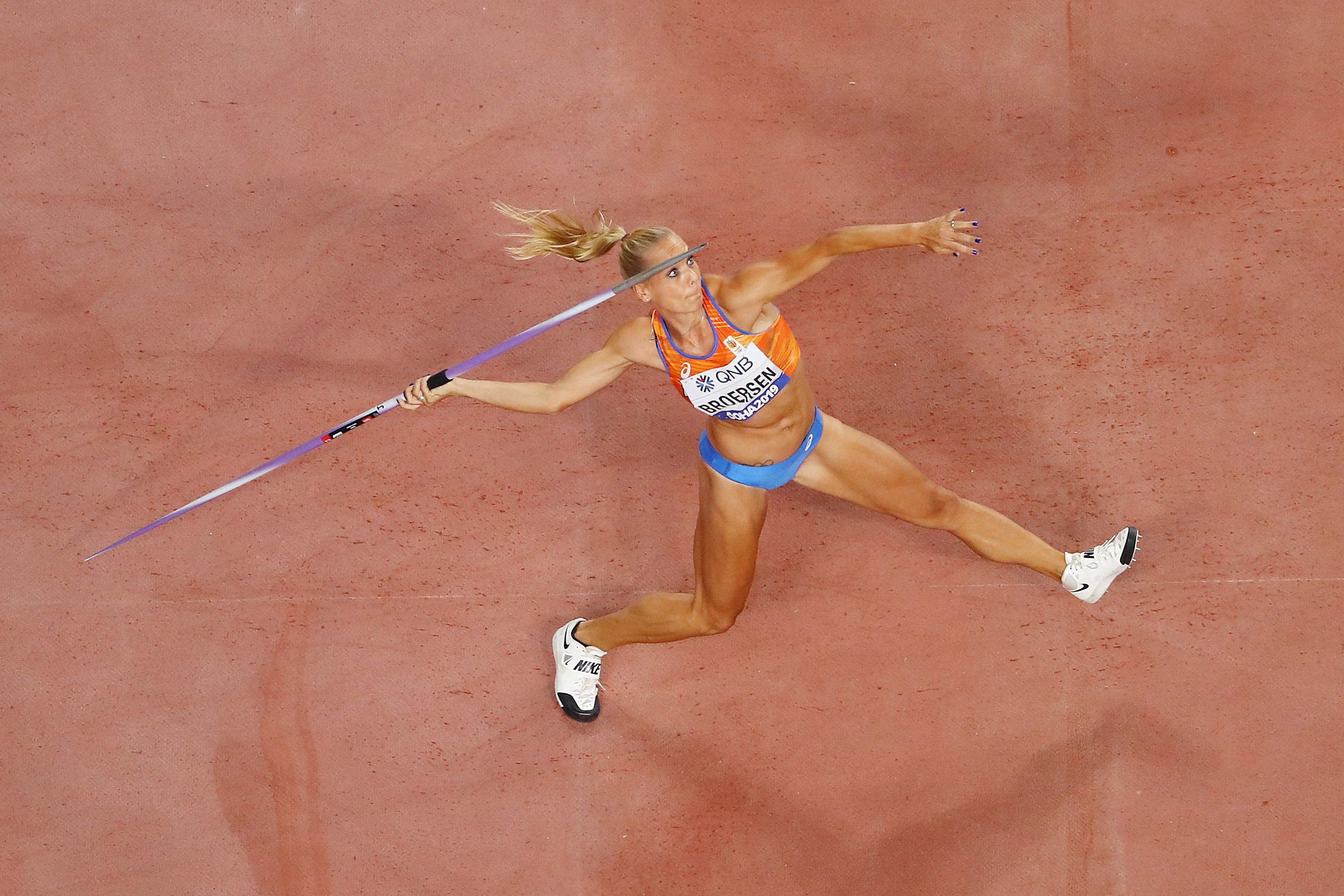 Dutch heptathlete Nadine Broersen (Getty Images)