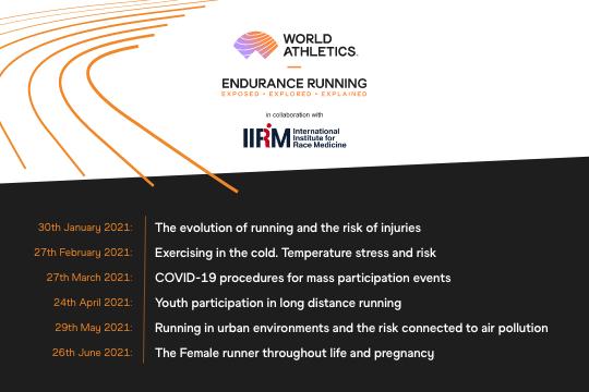 Endurance Running Webinars Schedule ()