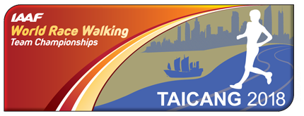 IAAF World Race Walking Team Championships Taicang 2018 logo (IAAF)