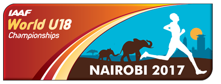 IAAF World U18 Championships Nairobi 2017 logo (IAAF)