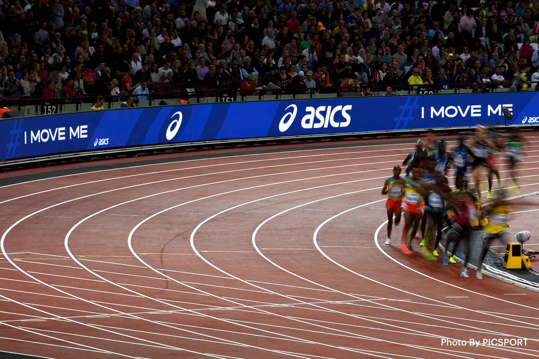 Runners at the IAAF World Championships (ASICS)