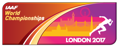 IAAF World Championships, London 2017 logo ()