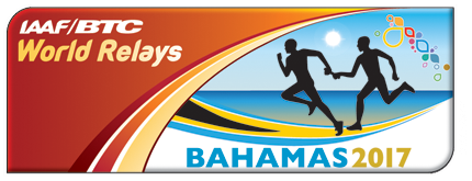 IAAF World Relays Bahamas 2017 logo (IAAF)