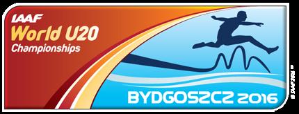 IAAF World U20 Championships Bydgoszcz 2016 logo ()