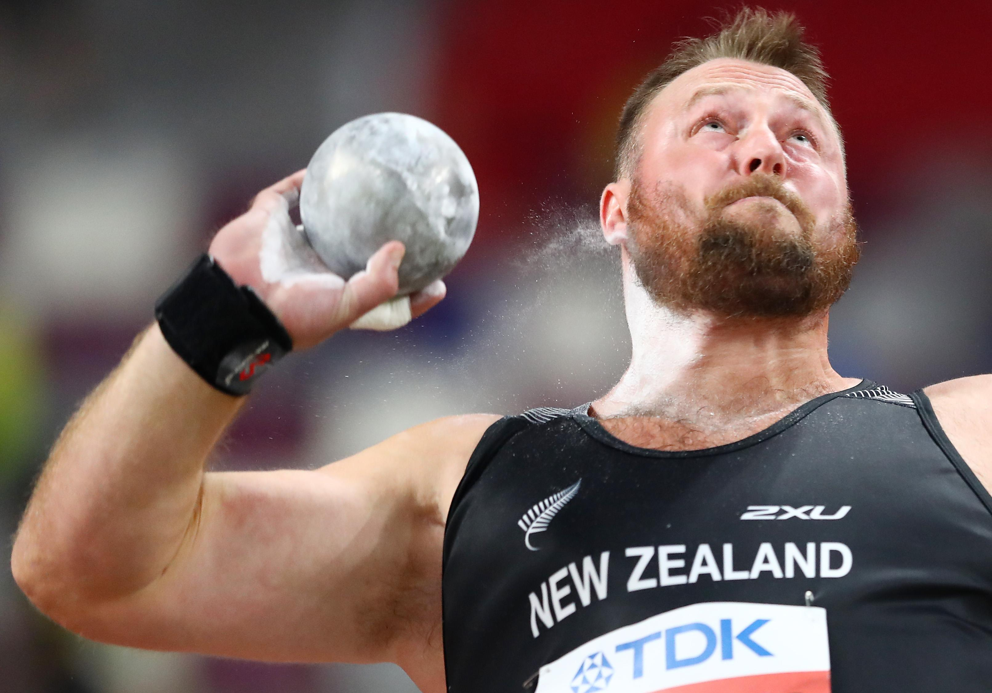 Tom Walsh at the IAAF World Athletics Championships Doha 2019 (Getty Images)