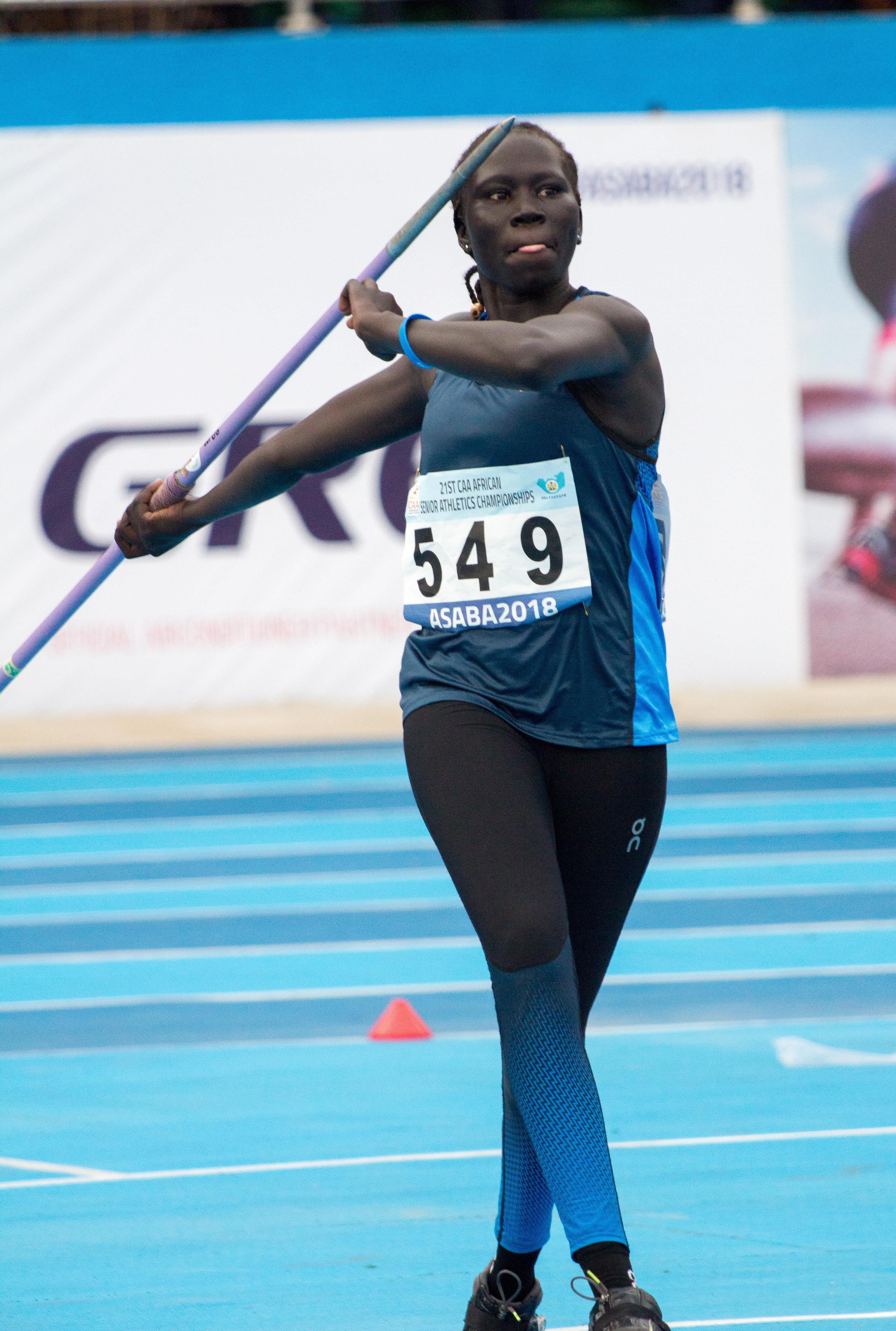 Athlete Refugee Team member Chajen Dang (Bob Ramsak)