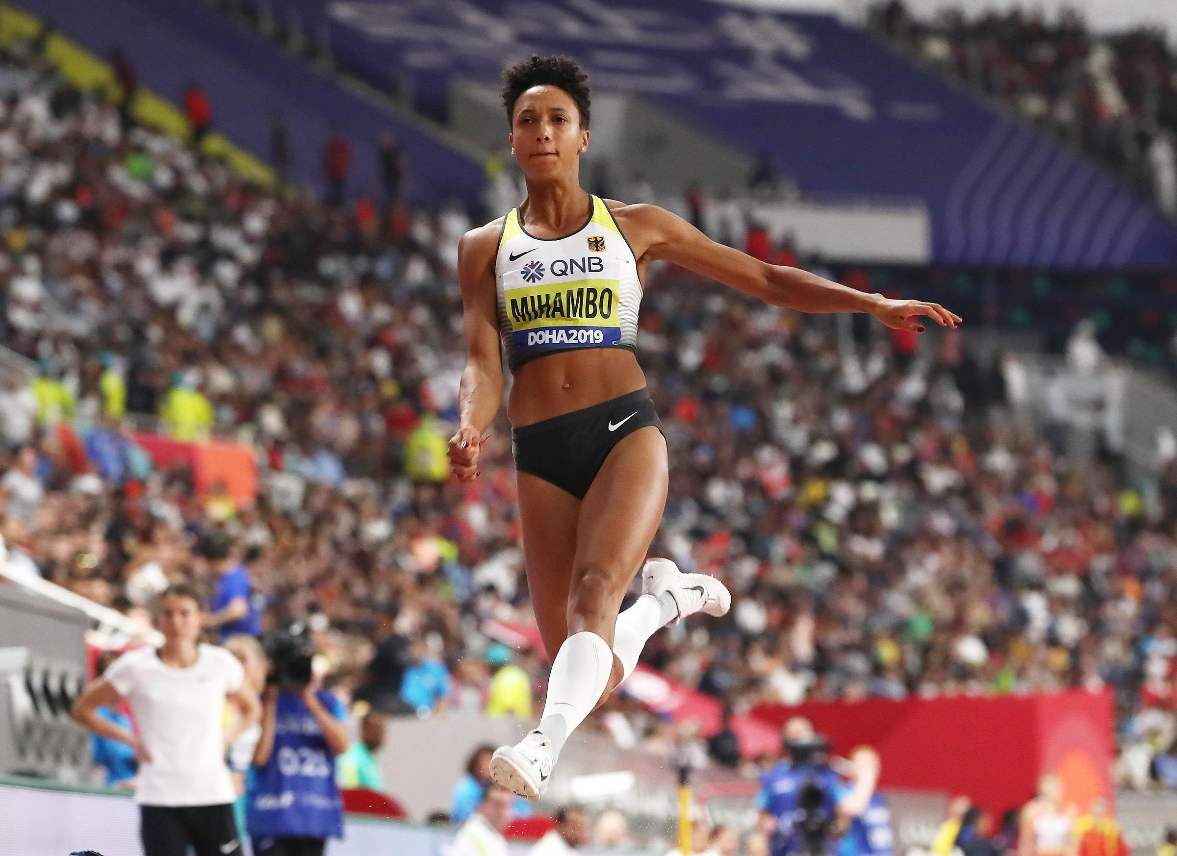 Malaika Mihambo at the IAAF World Athletics Championships Doha 2019 (Getty Images)