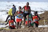 Japhet Kipyegon Korir leads the senior men's race at the 2013 IAAF World Cross Country Championships, Bydgoszcz, Poland on Sunday 24 March (Getty Images)