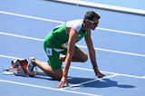 Thomas Barr in the starting blocks at the 2016 Rio Olympics (Getty Images)