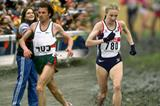 Carlos Lopes and Paula Radcliffe in World Cross Country Championships action (Getty Images)