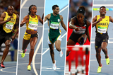 2016 World Athlete of the Year longlist nominees - sprints and hurdles (Getty Images)