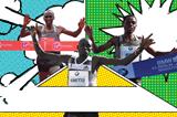 3 Fastest Marathoners SPIKES ()