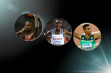 Men's finalists for the 2017 IAAF World Athlete of the Year award (Getty Images)