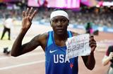 Brittney Reese after winning the long jump at the IAAF World Championships London 2017 (Getty Images)