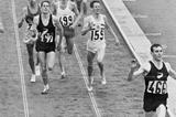 Peter Snell wins the Olympic 1500m title in 1964 (Getty Images)