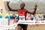 Geoffrey Kamworor winning at the IAAF World Cross Country Championships, Guiyang 2015 (Getty Images)