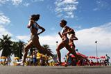 The women's race at the IAAF World Half Marathon Championships (Getty Images)