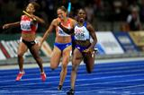 Dina Asher-Smith anchors Great Britain & NI to gold in the 4x100m at the European Championships (Getty Images)