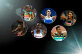 World Athlete of the Year 2017 finalists (Getty Images)