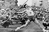Norwegian javelin thrower Egil Danielsen (Anno Domkirkeodden)