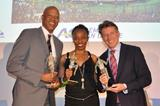 Willie Banks, Gail Devers and Sebastian Coe are inducted into the Memorial Van Damme hall of fame (Olaf Brockmann)