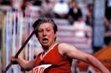 Soviet javelin thrower Saida Gunba (IOC)