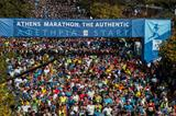 Start of the Athens Marathon (AFP/Getty Images)