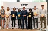 2017 world record plaque recipients in Monaco (Philippe Fitte)