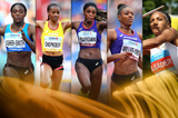 2018 female World Athlete of the Year finalists (Getty Images / Jean-Pierre Durand)