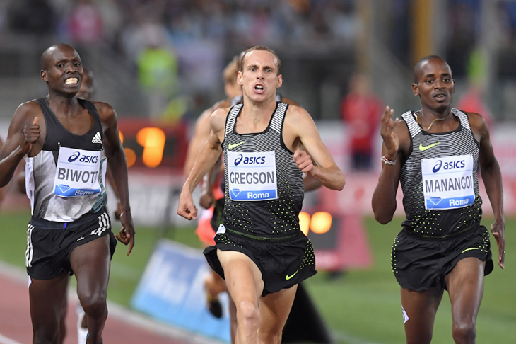 Ryan Gregson during the 2016 Rome Diamond League ()