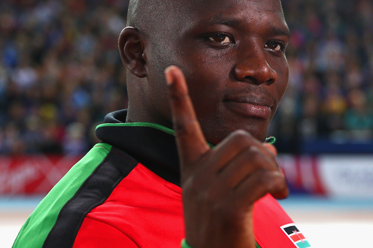 Kenyan javelin thrower Julius Yego (Getty Images)