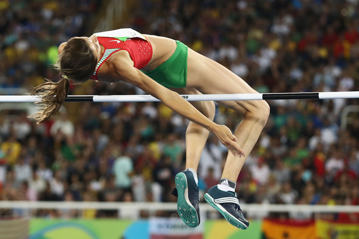 Mirela Demireva competes at the Rio Olympics (Getty Images)