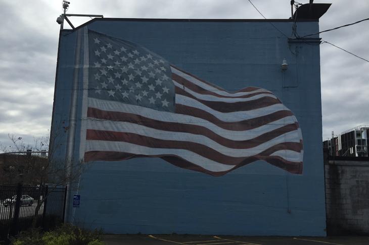 USA Flag Portland ()