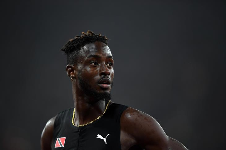Jereem Richards of Trinidad and Tobago at the IAAF World Championships London 2017 (Getty)