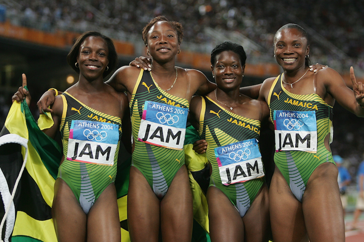 Jamaica 4x100m Women's Relay Team 2004 ()