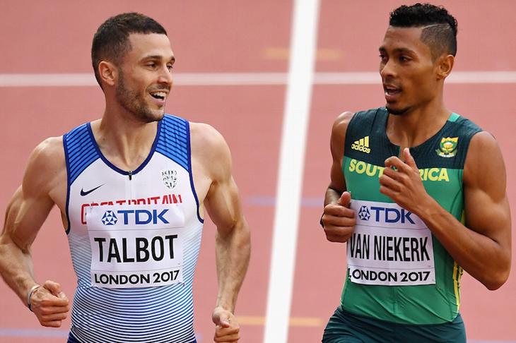 Danny Talbot and Wayde Van Niekerk ()