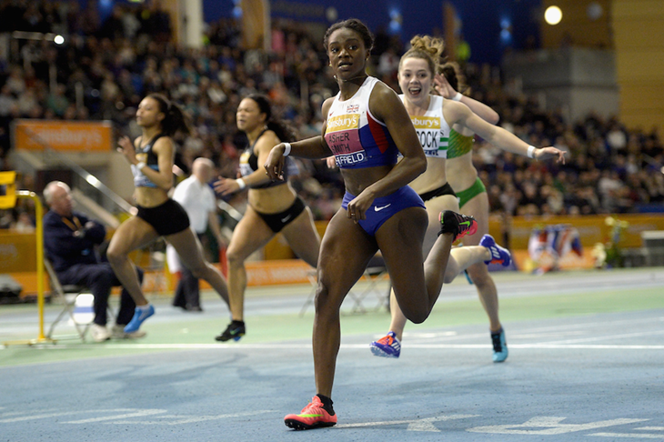 British sprinter Dina Asher-Smith (Getty Images)