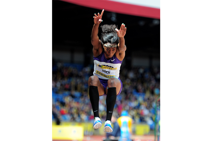 Lorraine Ugen competes in the 2012 British Champs ()