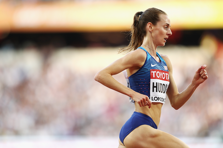 Molly Huddle competes at the 2017 IAAF World Championships (Getty Images)