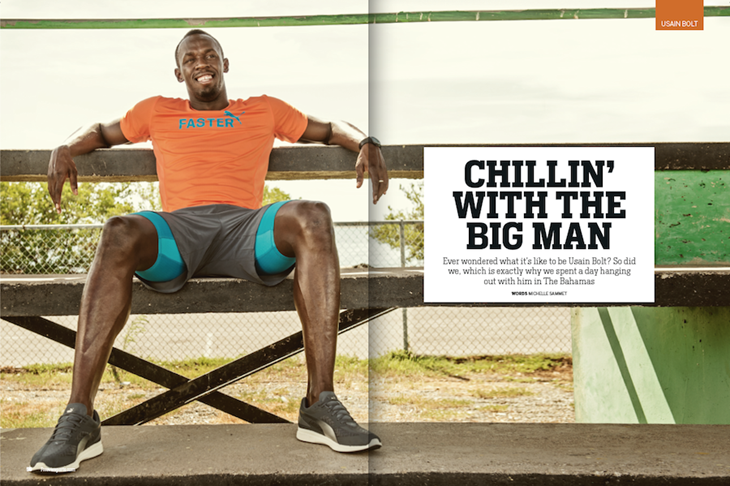 Forever Sports Usain Bolt Spread 1 ()