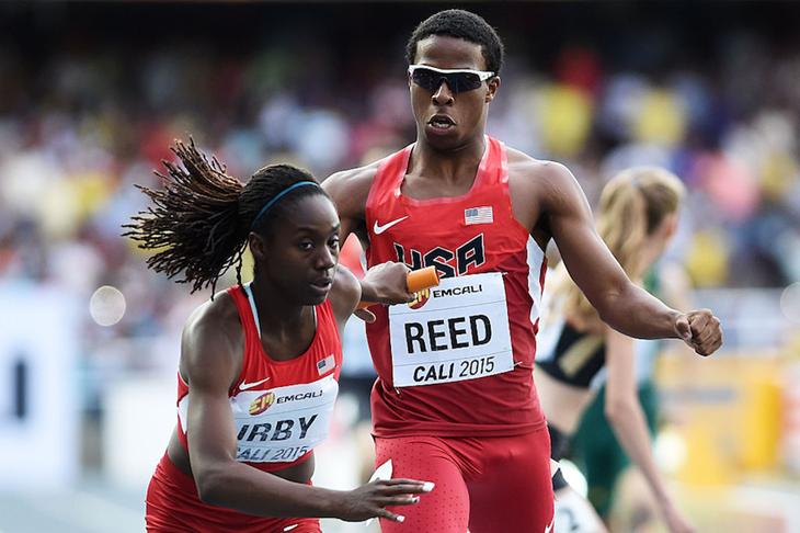 Mixed Relays at the 2015 World U18 Championships ()