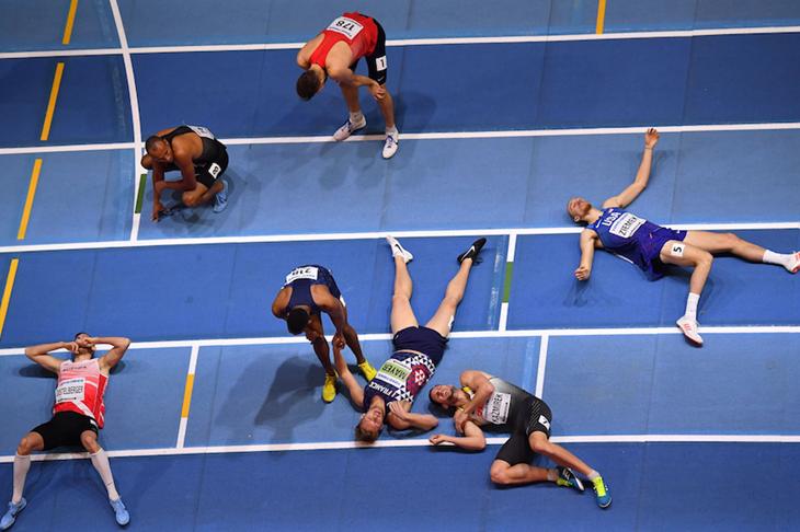 Heptathlon Finish Birmingham Wrap 3 ()