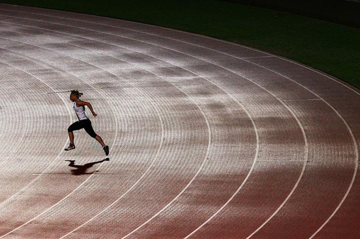 Australian javelin thrower Kim Mickle (Getty Images)