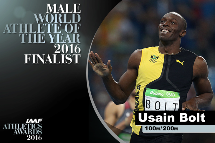Usain Bolt World Athlete of the Year Finalist ()