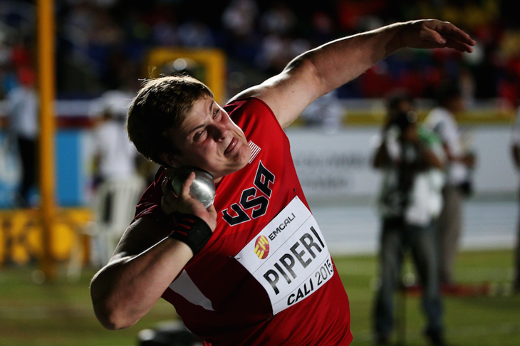 Adrian Piperi competes at the WYC Cali 2015 ()