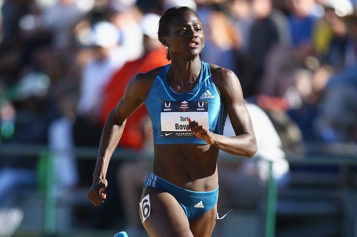 US sprinter Tori Bowie (Getty Images)