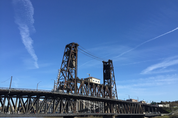 Steel Bridge Portland ()