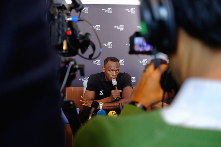 Usain Bolt Press Points ()