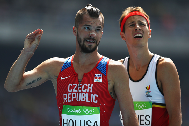 Jakub Holusa at the 2016 Rio Olympics (Getty Images)